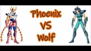 Cavalieri dello zodiaco - Saint Seiya 1vs1 - Ikki Phoenix VS Wolf - ITA