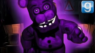 HAUNTED BY PURPLE FREDDY | Gmod - The FNAF Games
