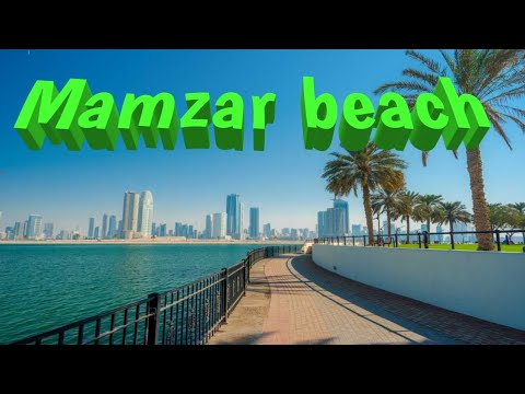 Mamzar Beach Dubai one of the most popular beach