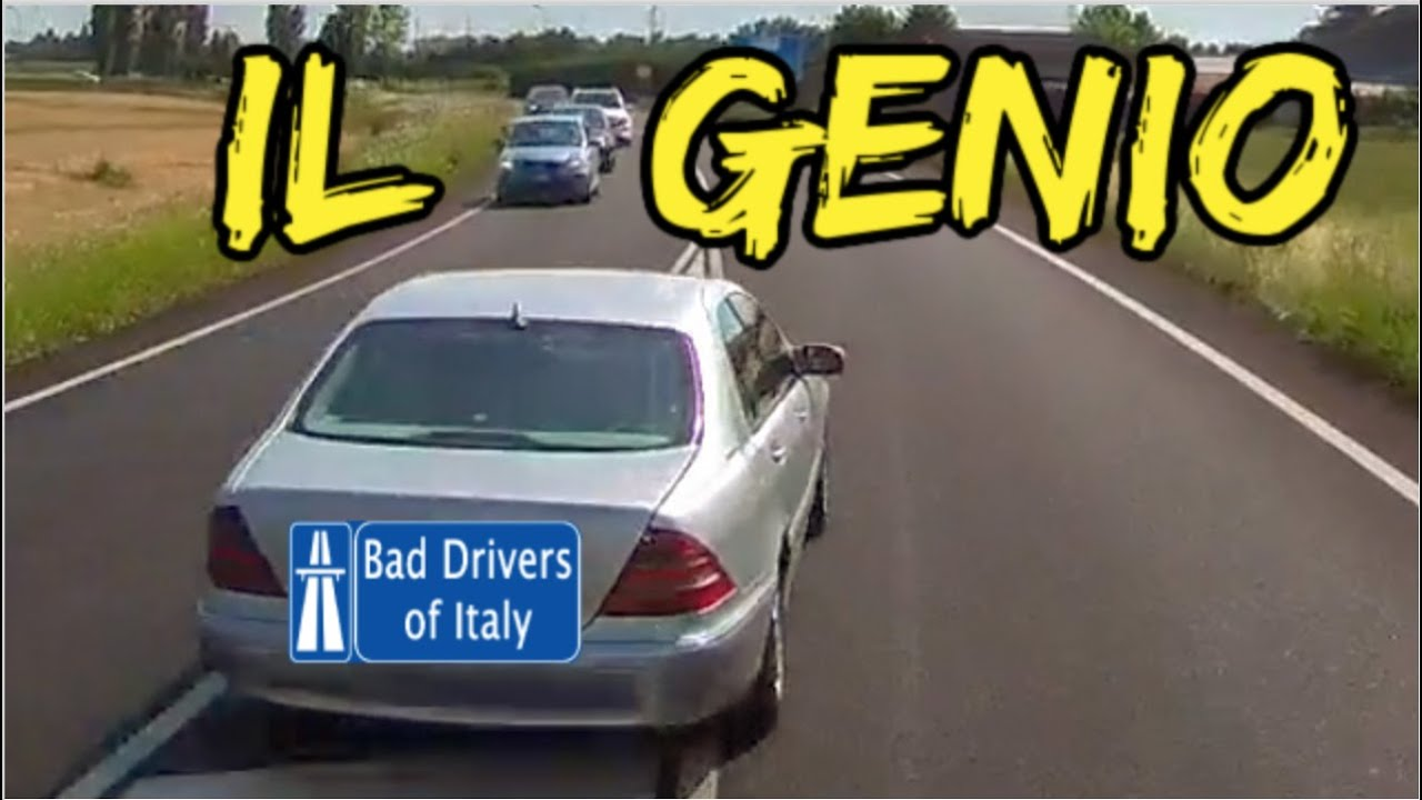 BAD DRIVERS OF ITALY dashcam compilation 08.04