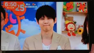梶裕貴めざましテレビ   2019.8.13 梶裕貴 検索動画 8