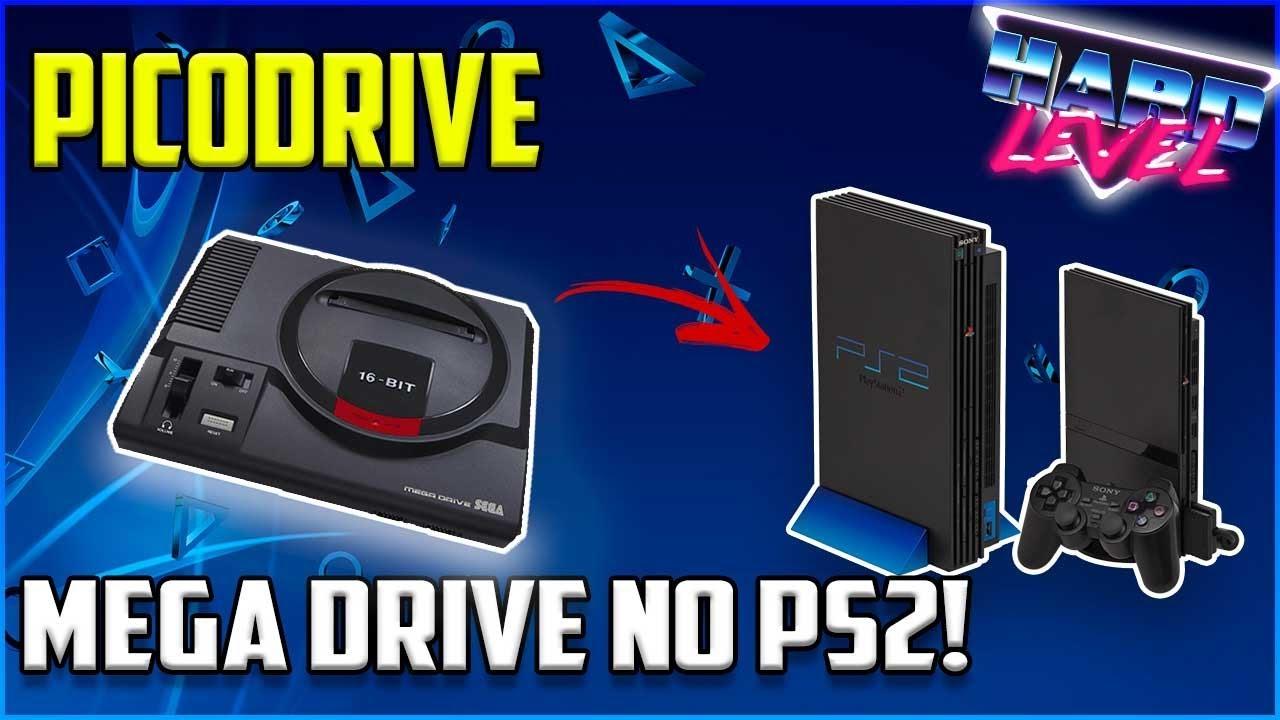 PS2 - PICODRIVE, O MELHOR EMULADOR DE MEGA DRIVE PARA O PLAYSTATION 2!