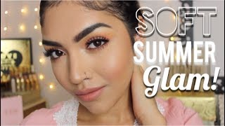 Baixar Soft & Peachy Summer Glam For OILY SKIN // MariaaGloriaa