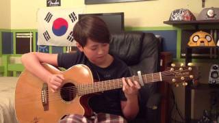 Hey Brother - Avicii - Fingerstyle Guitar Cover - Andrew Foy
