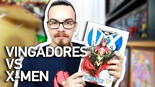 VINGADORES vs X-MEN - História Completa