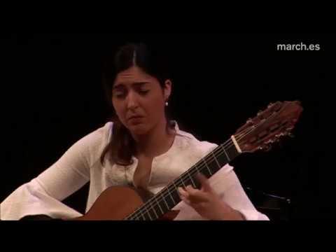Alfonsina y el Mar performed by Andrea González Caballero | Live at Fundación Juan March