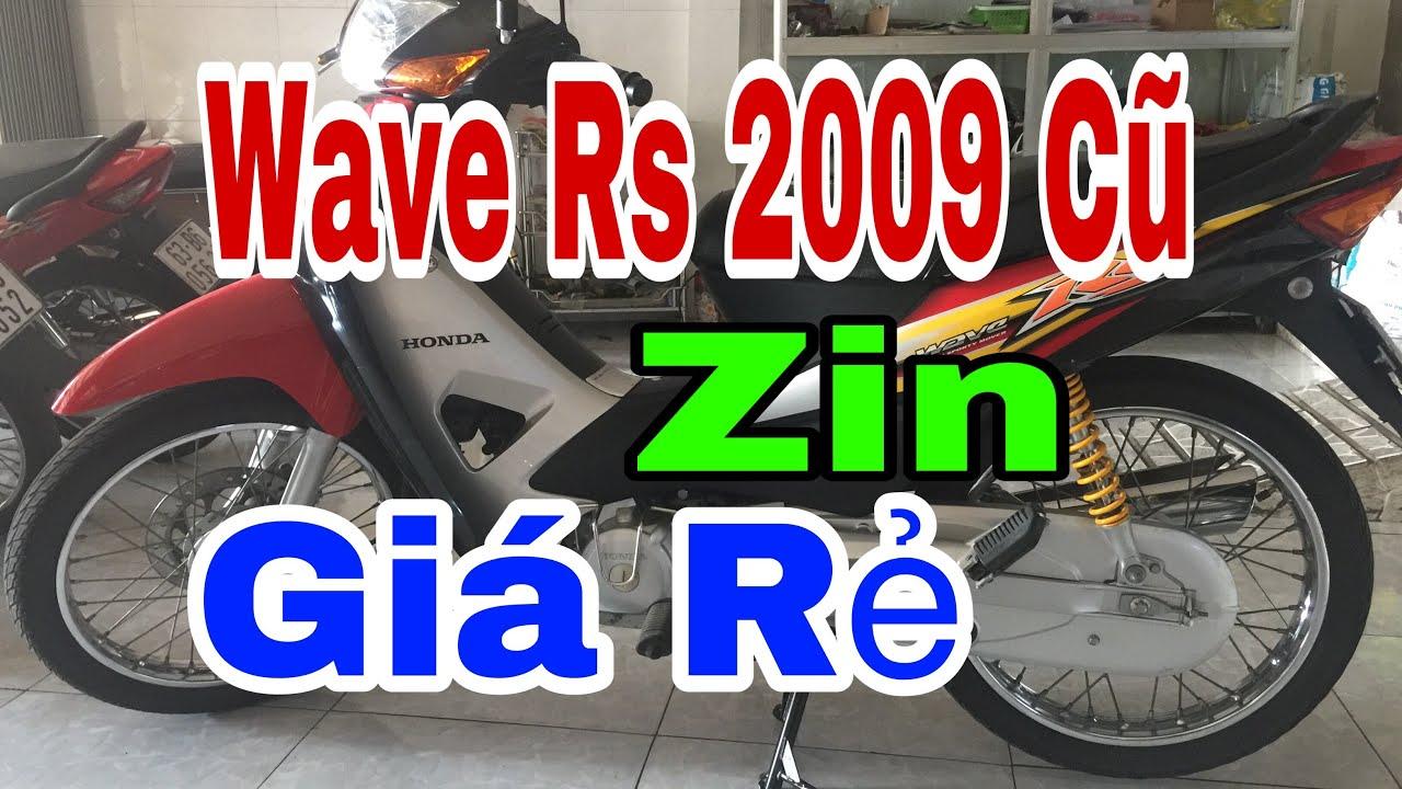 Bán Xe Wave Rs 2009 Zin Cũ Giá Rẻ – Chuyên Xe Cũ Tiền Giang