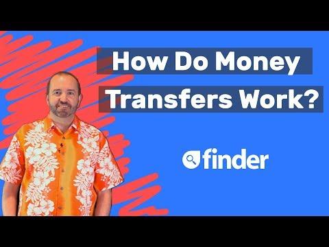 How do international money transfers work?