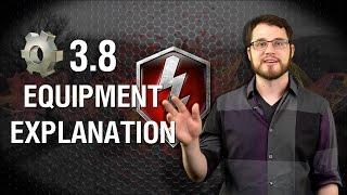 World of Tanks Blitz - Equipment in 3.8