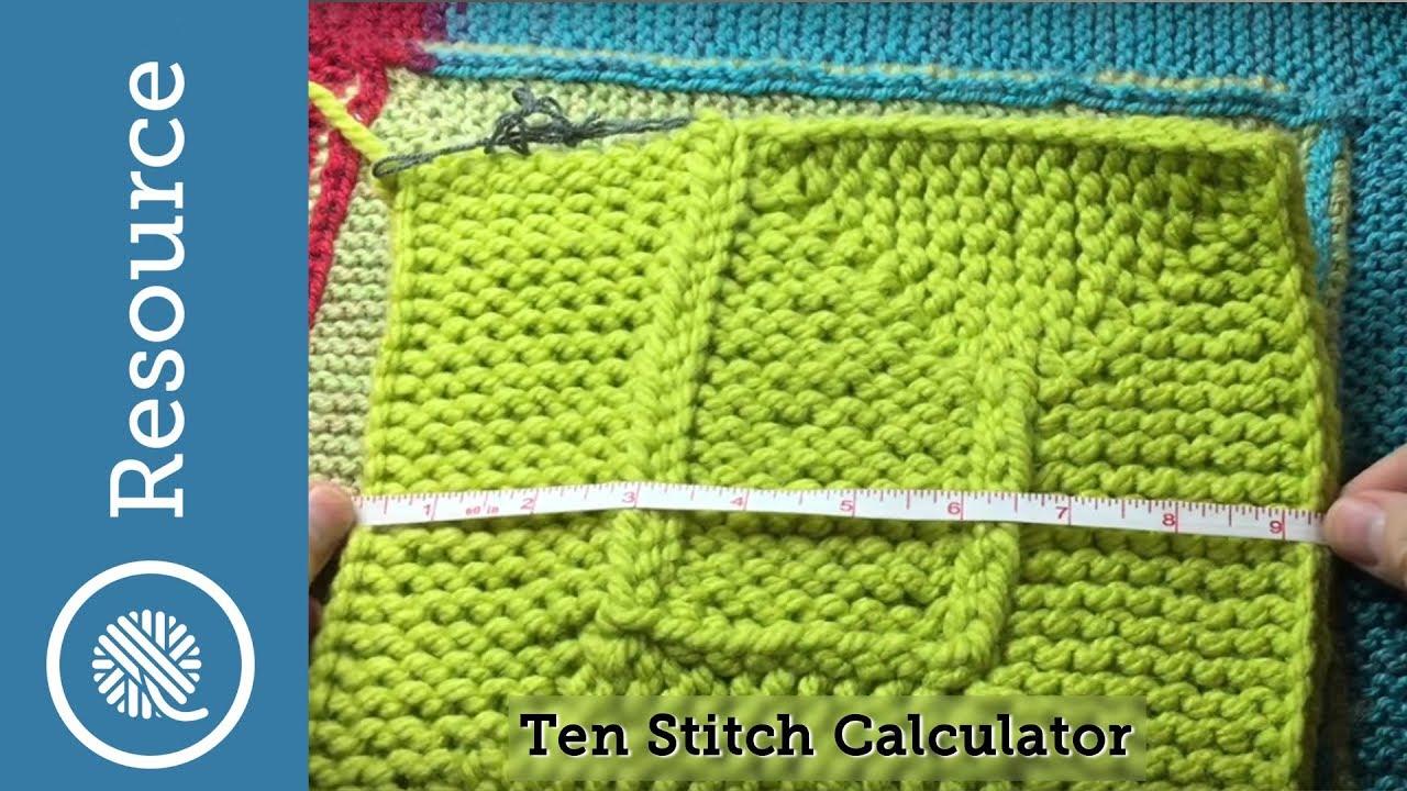 Ten Stitch Calculator Cc Youtube