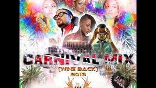 The Official Trinidad & Tobago Carnival Wine Back Mix Cd By Dj Scooby 2013