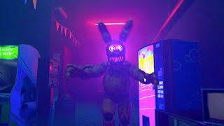 NO SÉ qué le PASA a SPRINGBONNIE - Five Nights at Freddy's Project Glowstick [FNAF Game]