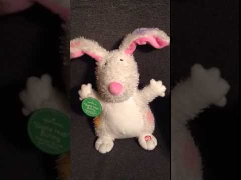 HOPPING PLUSH MUSICAL BUNNY