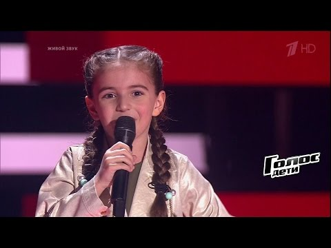 Каринэ Меграбян «Я деревенская» - Слепые прослушивания – Голос.Дети – Сезон 4