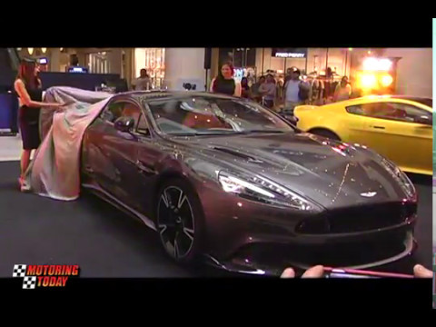 Aston martin Launches the All New Vanquish S in Manila   Industry News