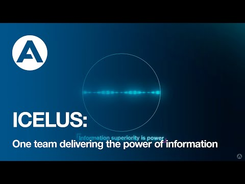 ICELUS : One team delivering the power of information
