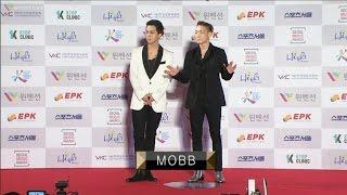 170119 MOBB (Mino & Bobby) Red Carpet @ 26th Seoul Music Awards