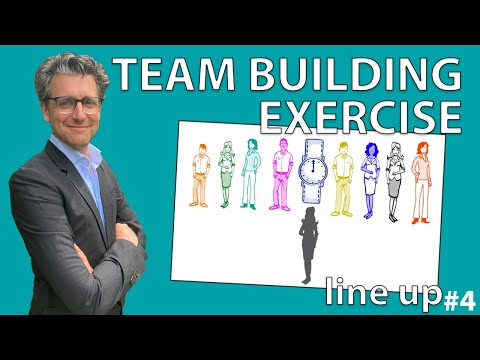 Team Building Exercise  - Line up #Exercise 4