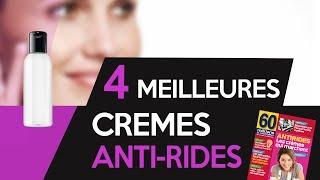 4 meilleures crèmes antirides qui marchent  ! choix magasine 60 millions de consommateurs