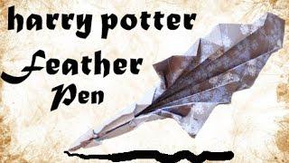 видео Оригами пера