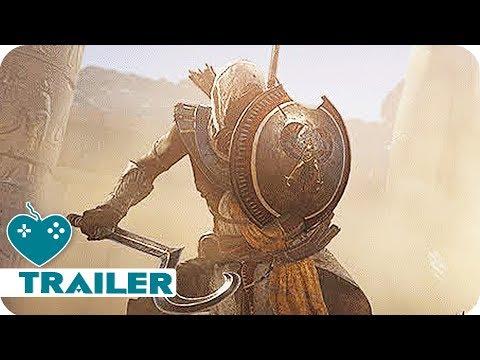 ASSASSINS CREED ORIGINS Gameplay Trailer (2017) E3 2017