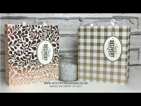 Crafty christmas Countdown #16   Year of Cheer Large Gift Bag
