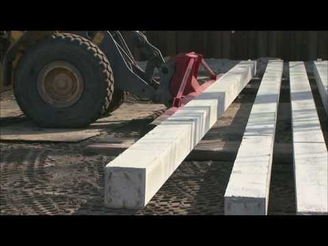 Precast concrete piles - Vroom Foundation Technology