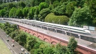 東武ワールドスクウェアでスペーシアと200系新幹線が夢のコラボ