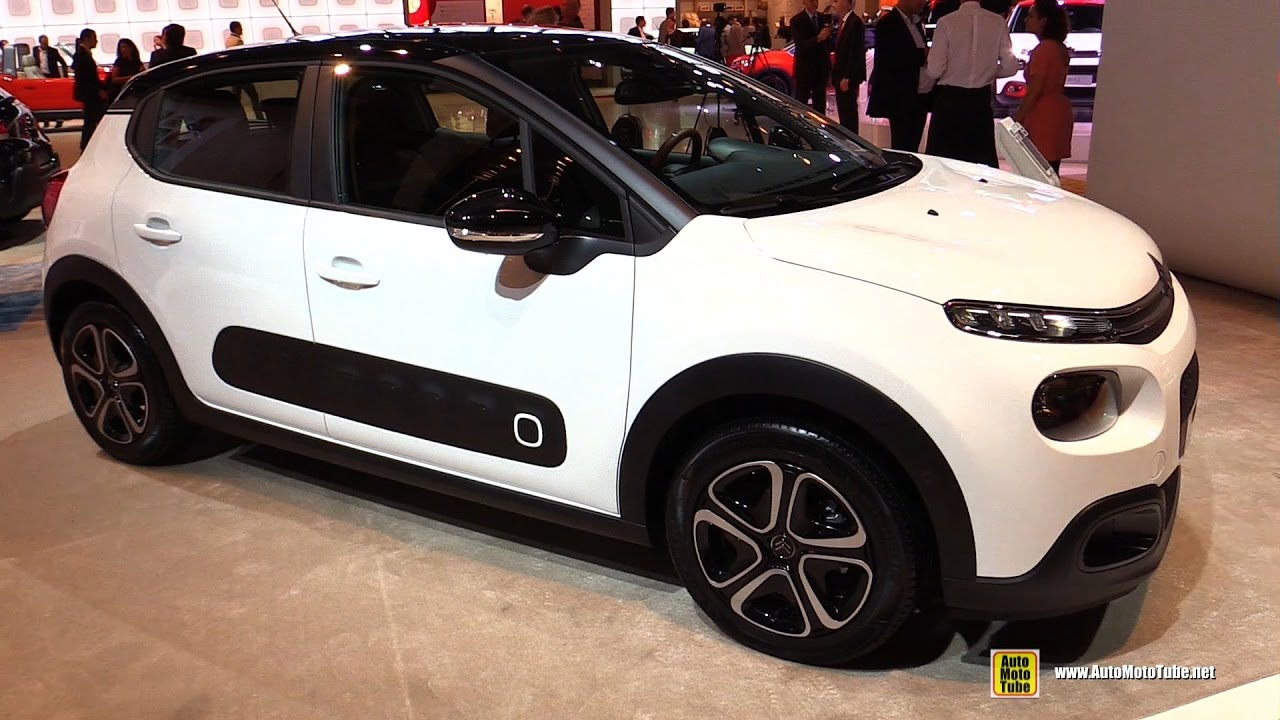 2017 citroen c3 exterior and interior walkaround debut at 2016 paris motor show youtube. Black Bedroom Furniture Sets. Home Design Ideas