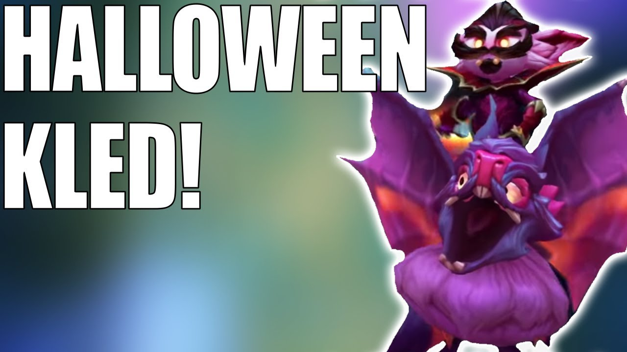 New Halloween Kled Skin Finally A New Kled Skin League Of