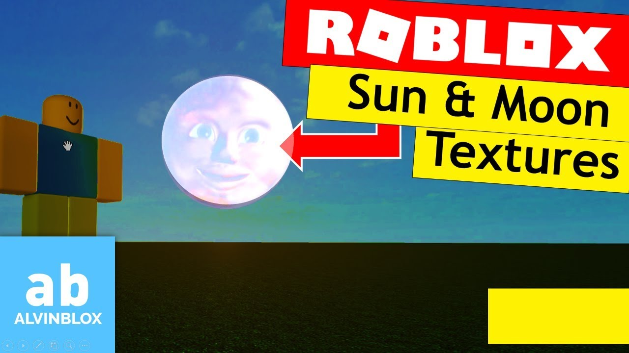 How To Change Sun Moon Texture In Roblox