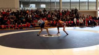 2015 Junior National Championships: 55 kg Sam Jagas vs. Oren Furmanov