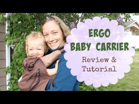 Ergo Baby Carrier Review + Front Carry Tutorial