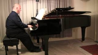 "Stephen Fierros plays ""Novelette No. 1 in C Major"" by Francis Poulenc"