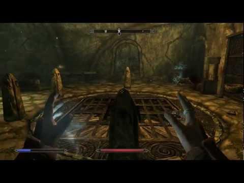 Skyrim   Forbidden Legend - Reachwater Rock Puzzle Doors