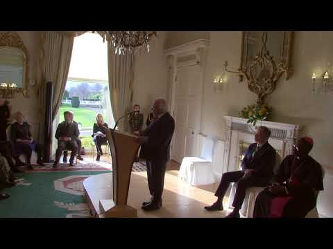Speech by President Higgins at the Diplomatic Corps 2018 New Year's Greeting Ceremony