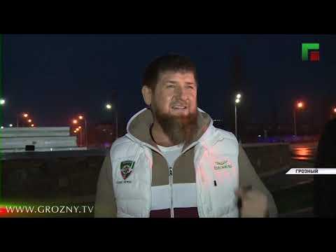 В Грозном проводят дезинфекцию улиц