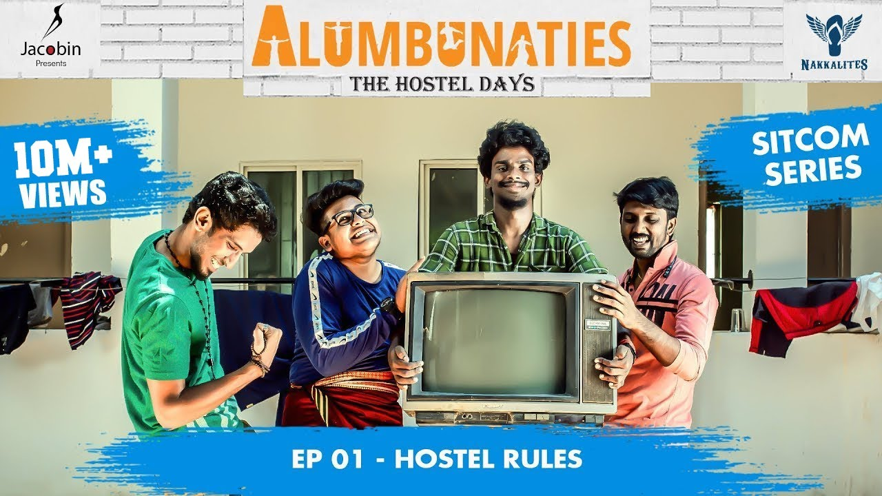 Download Alumbunaties - Ep 01 Hostel Rules - Sitcom Series #Nakkalites   Tamil web series (With Eng Subs)