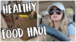 Healthy Food Haul & Cook With Me
