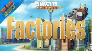 SImCity Buildit | Tips & Tricks for Beginners - FACTORIES - EP. 2