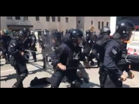 Thumbnail: PROTESTERS JUST FOUND OUT WHAT HAPPENS WHEN YOU THROW STUFF AT ST LUIS COPS!