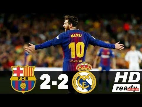 Barce|òna vs Real M2drid 2-2 All goals and Highlites