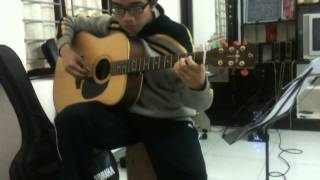 Ngàn Lần Khắc Tên Em - Guitar Solo Cover