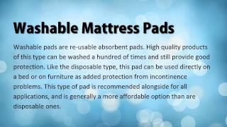 Different Types of Incontinence Bed Protectors