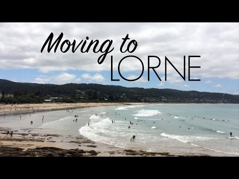 MOVING TO LORNE! // Victoria, Australia