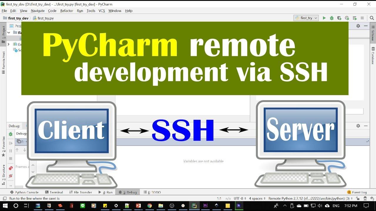 Python PyCharm Remote Development via SSH