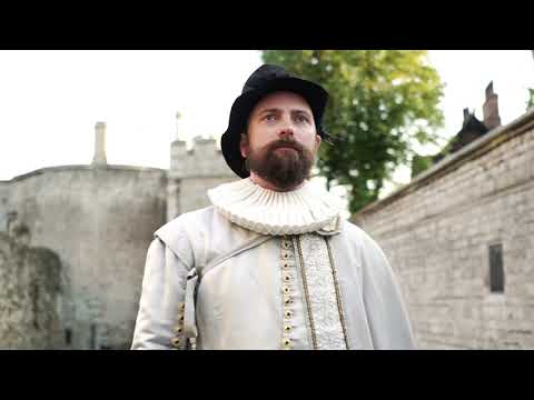 Sir Walter Raleigh's imprisonment at the Tower of London