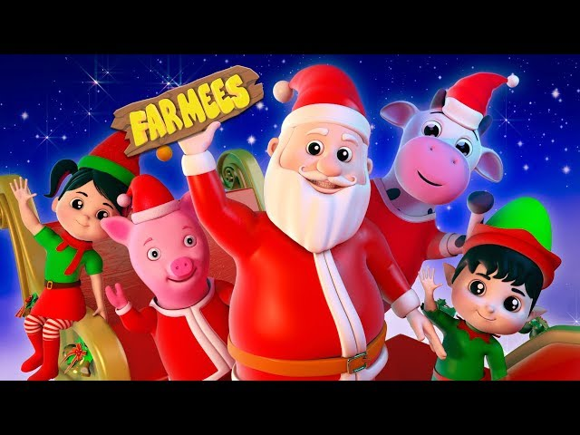 Jingle Bells | Christmas Carols For Kids | Videos For Babies by Farmees