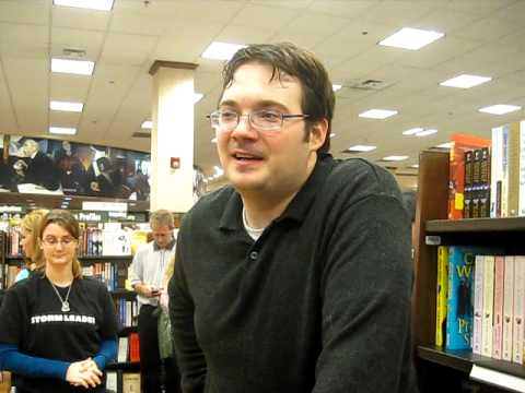 The Gathering Storm: Charleston Release Party- Brandon Sanderson Interview