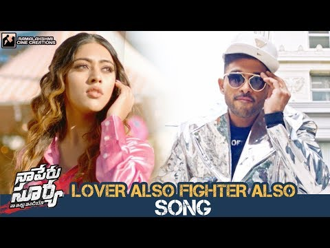 Lover Also Fighter Also Song Promo | Naa...